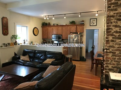 Somerville Apartment for rent 3 Bedrooms 1 Bath  Winter Hill - $2,985